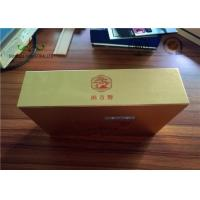 Quality Gloden Face Finishing Embossing Paper Packing Box For Candy SGS for sale