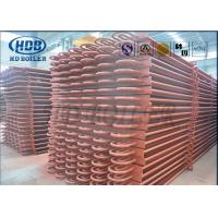 Quality ASME Standard Hot Water Boiler Stack Economizer Economiser Tubes Anti Corrosion for sale