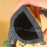China Closed cell EPDM Sponge D rubber seal with Self - Adhesive for sale