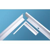 Quality 6005 / 6060 Aluminum Frame Extrusion Profiles Sandblast For Led Lightning for sale