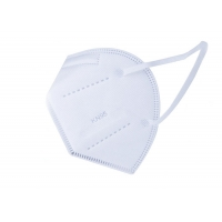 Quality Melt Blown Disposable White KN95 Civil Protective Mask for sale