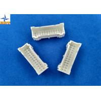 Quality wire to board connector with 2.00mm pitch dual row vertical type wafer connector shrouded header for sale