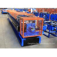 Quality Color Steel Sheet Rain Water Downspout Roll Forming Machine Chain / Gear Box Driven System for sale