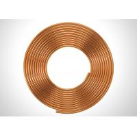 Quality C1220 SF-Cu C12000 3 4 Copper Refrigeration Tubing Coil For Liquid Fed for sale