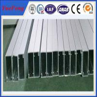 Quality OEM silver aluminum profile manufacturer, aluminum extrusion series 6063-t6 for sale