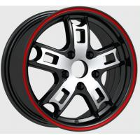 Quality 4 / 5 Hole 15 Inch Chroming Polish Finished Alloy Wheels For Car 1030 for sale