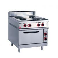 Quality Stainless Steel Kitchen Commercial Baking Ovens , Industrial Bakery Ovens With Cabinet for sale