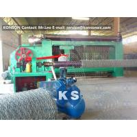 Quality Automatic Gabion Box Machine Making Hexagonal Fence With Automatic Stop System for sale