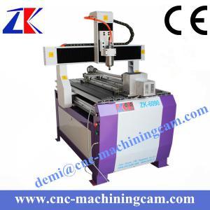Quality Mini wood cnc machine ZK-6090 (600*900*120mm) for sale