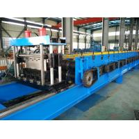 China Color Steel 30KW Floor Metal Deck Roll Forming Machine With Clinch System on sale