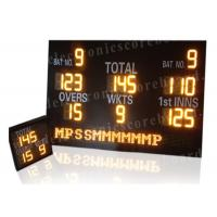 Quality Customized Design LED Cricket Scoreboard With Mini Repeater 1200mm*2000mm*100mm for sale