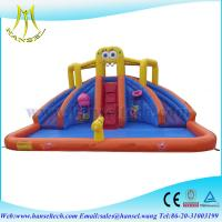Quality Hansel bouncers,commercial grade inflatable water slides,giant inflatable pools for sale