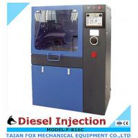 Quality Touch screen type 4kw/380v/3phase, common rail diesel injector test bench with flow sensor for sale