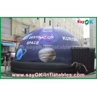 Quality Waterproof Full Print Mobile Planetarium Inflatable Dome Tent With Star for sale