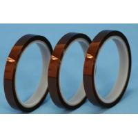 polyimide tape with silicone adhesive for high temperature masking for sale