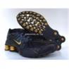 Mens Nike Shox OZ black/gold for sale