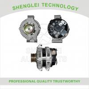 Quality 1042103290 Honda Car Alternator 12V 100A Center Muffler Type with OEM Specification for sale