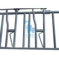 Quality 6 Head Opening Locking Feed Barriers For Cattle Farm 3660 * 1050mm Fence Length for sale