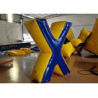 Quality Commercial Inflatable Paintball Bunkers 0.6 X 1.8 (H) m Fire Resistance Customized for sale