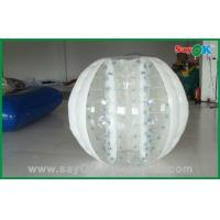 Quality Hot Selling Bubble 0.6mm PVC/TPU 2.3x1.6m Inflatable Body Bumper Ball For Game for sale