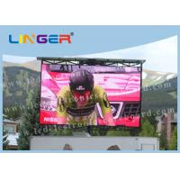 Quality 6500Cd Waterproof LED Full Color Display Ultrathin Easy Installation for sale
