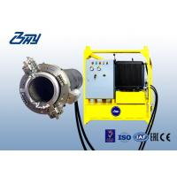 China Split Frame OD Mounted Cold Pipe Cutting Beveling Machine For Chemical Plant on sale