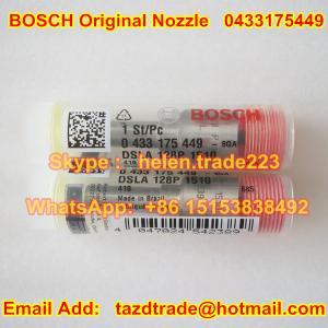 Quality BOSCH original NOZZLE 0433175449 ,0 433 175 449 , DSLA128P1510 , DSLA 128P 1510,0445120059 for sale