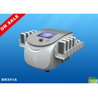 China 130mw Smartlipo Diodes Lipolaser Slimming Machine 8'' Display , 176 Mitsubishi Diodes for sale