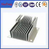 Quality soldering aluminum extrusion heat sink used for CPU thermal solution for sale