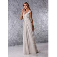 Quality Aline Low back wedding dress Bridal gown#dq4656 for sale