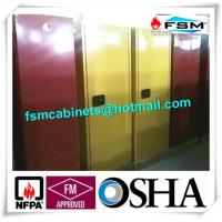 Quality 60 GAL Industrial Safety Cabinets , Safety Storage Cabinets For Flammable Liquids for sale