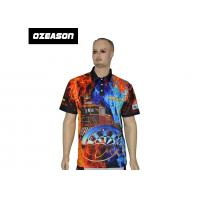 Quality OEM Bulk New Design 100% Polyester Cheap Printed Sports Polo Shirts for sale