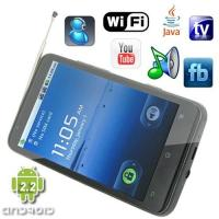 Quality Android 2.2 OS 4.3 Inch Capacitive Quad Band Android Phone with GPS Navigation [A1000-GPS] for sale