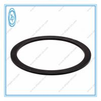 Quality Black Nylon ABA Back Up Ring Hydraulic Seal Solvent / Abrasion / Weather Resistance for sale