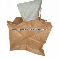 Quality Moister Proof Large Brown PP Container Bags / Jumbo Bag for Packing Sand or Cement for sale
