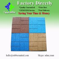 Quality 400*400 Outdoor EPDM Rubber Floor Tiles for sale