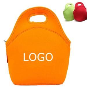 Quality Custom Eco-friendly neoprene insulated kids lunch bag.Size:30cm*30cm*16cm for sale