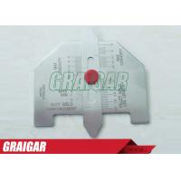 Quality Metric Automatic Weld Gauge For Welding Inspection / Stanless Steel Welding Gage for sale