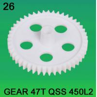 Quality GEAR TEETH-47 FOR NORITSU qsf450L2 minilab for sale