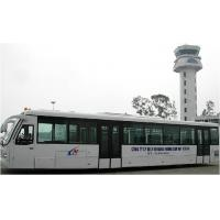 Quality Durable Nice Airport Shuttle Bus Ramp Bus With Adjustable Seats for sale