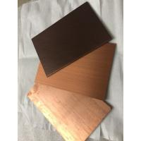 Buy Thermal Resistance Copper Composite Panel / Decorative Copper Panels For Cupboard at wholesale prices