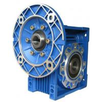 China NMRV small worm gear drive with shaf  flange input output worm gear reducer on sale