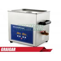 Quality Digital Ultrasonic Cleaner Ultrasonic Cleaning Equipment for Clean Lab Instrument PS-D40A 240W 7.2L for sale
