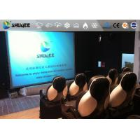 Buy 18 Persons 5D Movie Theater With Special Effect System 3DOF Pneumatic Motion Chairs at wholesale prices