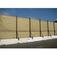 Quality Temporary Mobile Noise Barriers Light Duty Design Flexiable up to 40dB voice reduction for sale