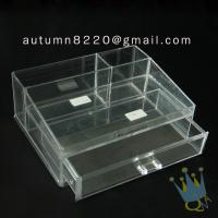 Quality BO (62) acrylic make up organizer case for sale