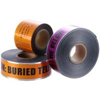 Quality Customized Orange High - Strength 200m Underground Detectable Warning Tape for sale