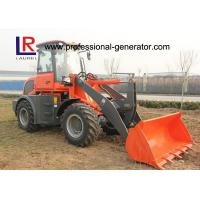 China CE 2.5 Ton Strong Power Small Building Loader with Pallet Forks , Front Loader on sale