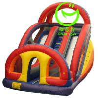 Quality 2016 hot sell  inflatable fun slide with 24months warranty GT-SAR-1621 for sale