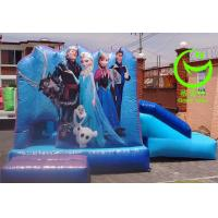 Quality 2016 hot sell   frozen inflatable bouncer  with 24months warranty GT-BC-1831 for sale